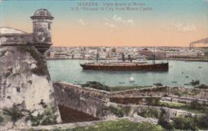Cuba Havana S S Havana and View Of City From Morro Castle