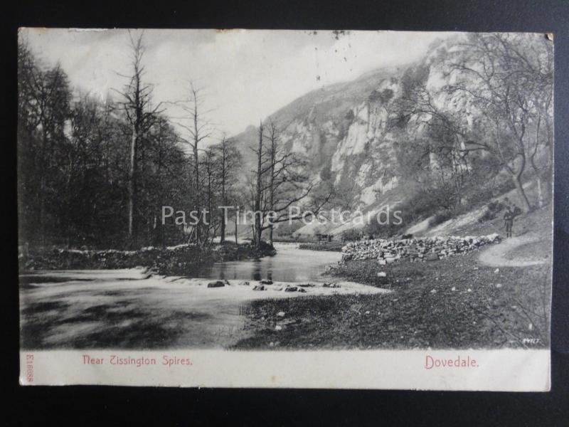 ASHBOURNE Dovedale Near Tissington Spires c1906 by Stengel & Co. E16088