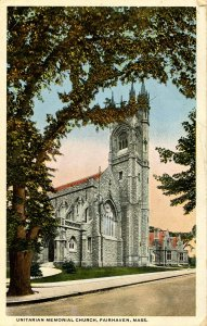 MA - Fairhaven. Unitarian Memorial Church