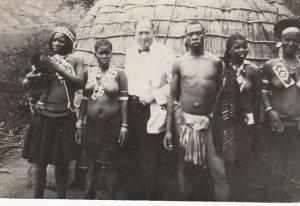 Goodyear Rubber Co , 1930s ; Man & His 4 wives in Africa