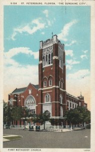 ST PETERSBURG , Florida , 1910s ; First Methodist Church