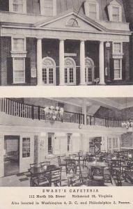 Virginia Richmont Ewart's Cafeteria Albertype