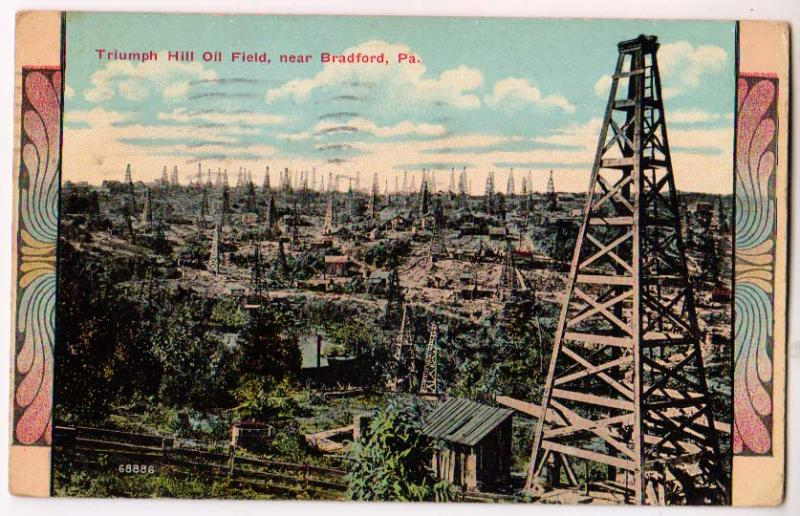 Triumph Hill Oil Field, Bradford PA