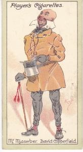 Cigarette Cards Players Characters From Dickens No 41 Mr. Macawber