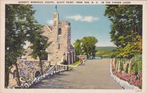 New York Penn Yann Garrett Memorial Chapel Bluff Point