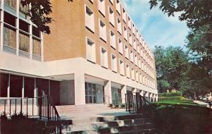 Quincy Illinois~Quincy College~Padua Hall~Father Tom Ektachome~1960s Postcard