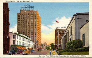 Pennsylvania Reading North Fifth Street Curteich
