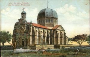La Loma Church Near Caloocan Philippines c19190 Postcard