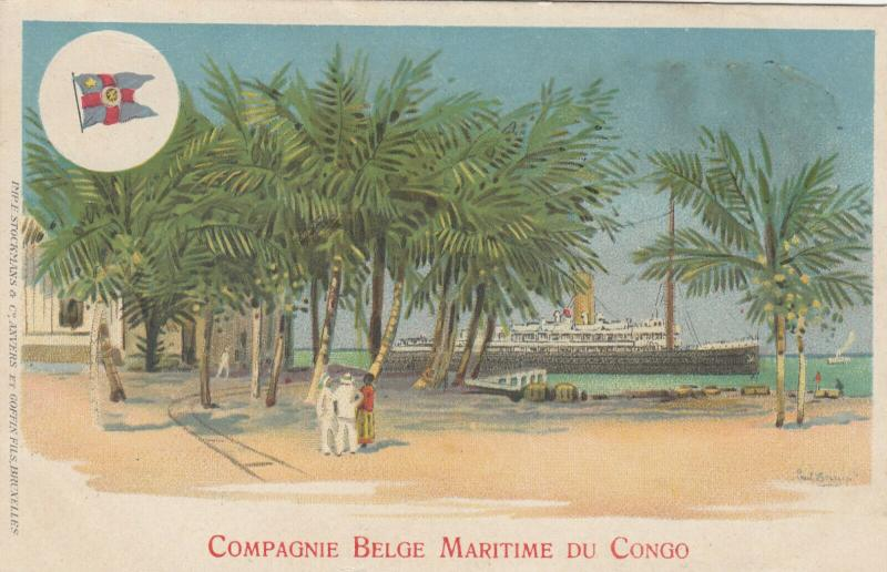 Compagnie Belge Maritime Du Congo , 00-10s ; Ship