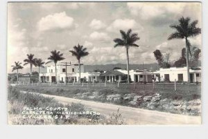 RPPC POSTCARD FOREIGN MEXICO SAN LUIS POTOSI CIUDAD VALLES PALMA COURTS