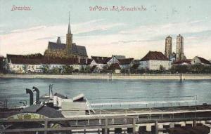 Poland Breslau Der Dom und Kreuzkirche