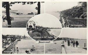 RP: Dovercourt , Essex , England , 1958 ; 5 view PC w/ LIGHTHOUSE