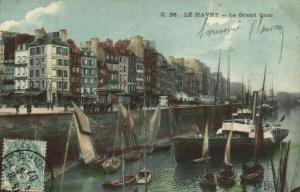 CPA  Le Havre - Le Grand Quai      (201107)
