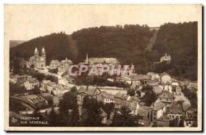 Old Postcard Clervaux General view