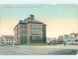 Pre-Chrome SCHOOL SCENE Providence Rhode Island RI AH0077