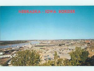 Unused Pre-1980 STOCK YARDS AREA Sioux City Iowa IA hn1958