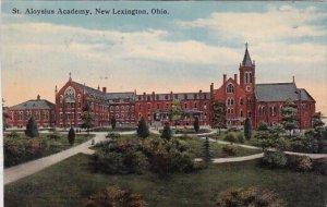 Saint Aloysius Academy New Lexington Ohio 1915
