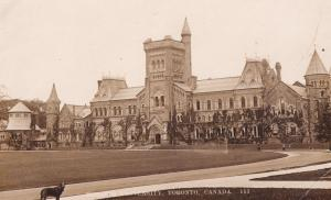 Toronto University Vintage Real Photo Postcard