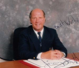 Jimmy Smith Genuine Hand Signed Photo