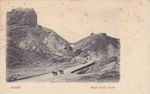 ADEN , Main Pass Gate , Yemen , 00-10s