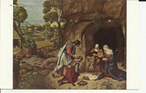 The Adoration Of The Shepherds, By Giorgione, Samuel K.Kress Collection