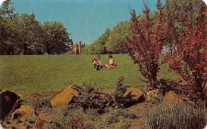 Idaho~Main Campus Green University Of Idaho~1960 Postcard