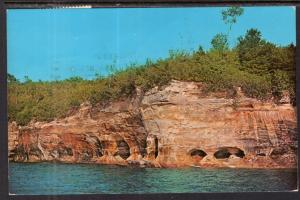 Pictured Rocks National Lakeshore on Lake Superior,MI BIN