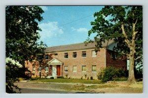 Searcy AR, Harding College, Music Building, Arkansas, Chrome Postcard