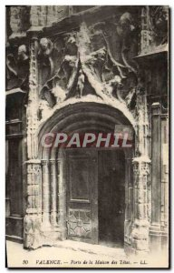 Postcard Old Gate of Valencia Quatorze