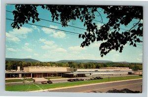 Tyrone PA, Tyrone Area High School, Chrome Pennsylvania c1976 Postcard