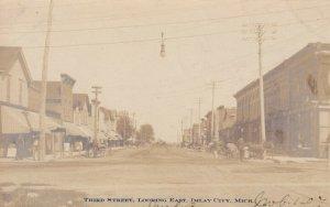 RP: IMLAY CITY , Michigan , 1907 ; Third Street