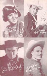 Bobbie Blake, Ray Corrigan Western Actor Mutoscope Unused