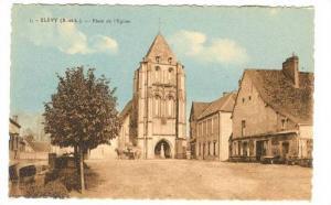 Blévy (E.-et-L.) , France. 1910s ; Place de l'Eglise #2