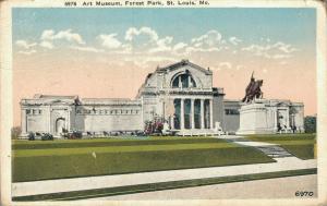 USA Art Museum Forest Park St. Louis 01.95