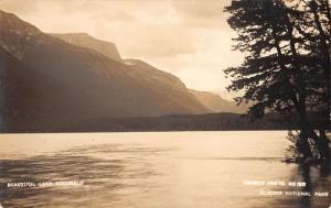 Glacier National Park Montana Lake McDonald Real Photo Antique Postcard K20226