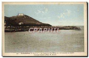 Old Postcard Trebeurden La Pointe Island Millau often came to rest the eminen...