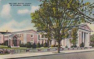 Virginia Richmond First Baptist Church