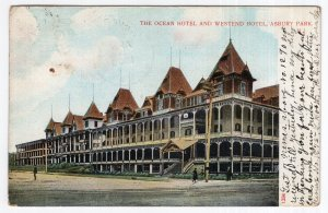 The Ocean Hotel And Westend Hotel, Asbury Park
