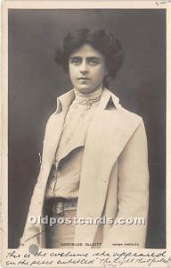 Gertrude Elliott Theater Actor / Actress 1908