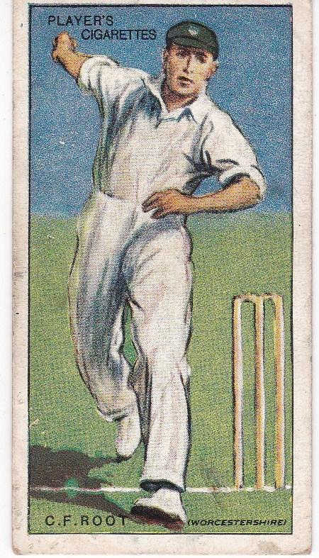 Cigarette Cards Player's Cricketers 1930 No 38 - C V Root
