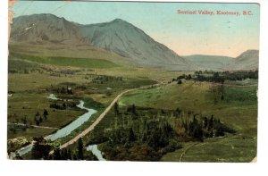 Sentinel Valley, Kootenay, British Columbia, Used 1910
