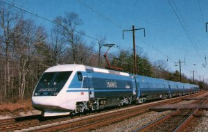 Amtrak X2000 High Speed,Tilt Train