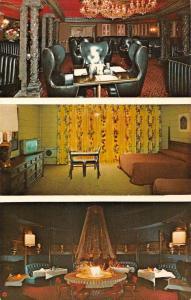 Calexico California Hollie's Fiesta Motel Vintage Postcard JA455748