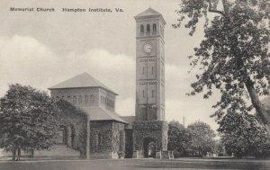 HAMPTON INSTITUTE, Virginia , 00-10s; Memorial Church