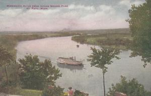 ST PAUL , Minnesota , 00-10s ; Mississippi River from Indain Mound Park