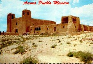 New Mexico Acoma Pueblo Mission