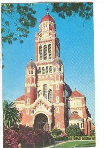Exterior, St. John's Cathedral, Lafayette, Louisiana, 40-60s