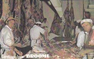 Interior Butcher Shop , BROOME , N.S.W. , Australia , 40-60s