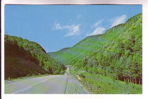 Road between Cheticamp. Pleasant Bay, Cape Breton, Nova Scotia, Urquhart