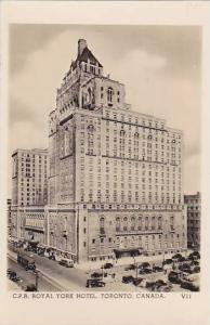 RP, C. P. R. Royal York Hotel, Toronto, Ontario, Canada, 1920-1940s